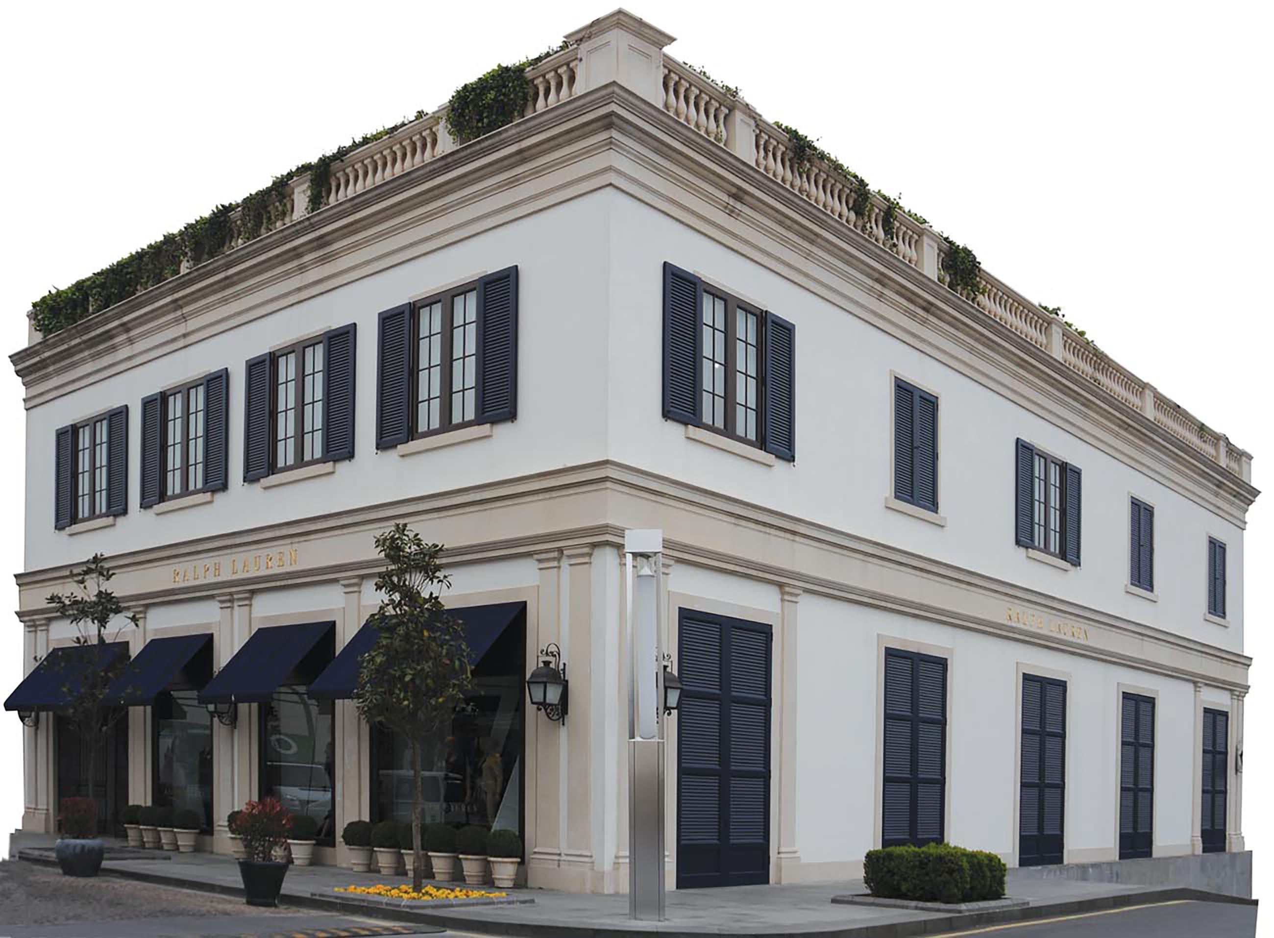 Fibrobeton Ralph Lauren Store