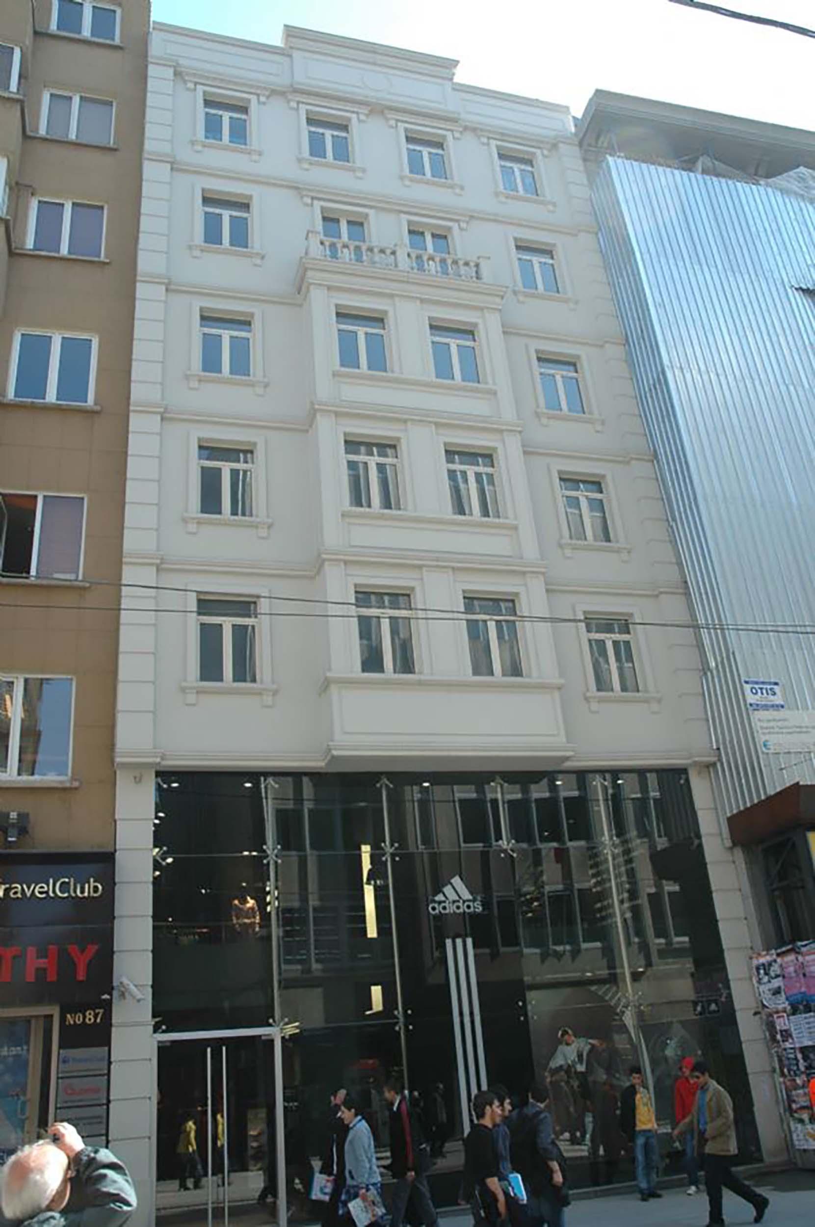 Fibrobeton Adidas Store, Taksim