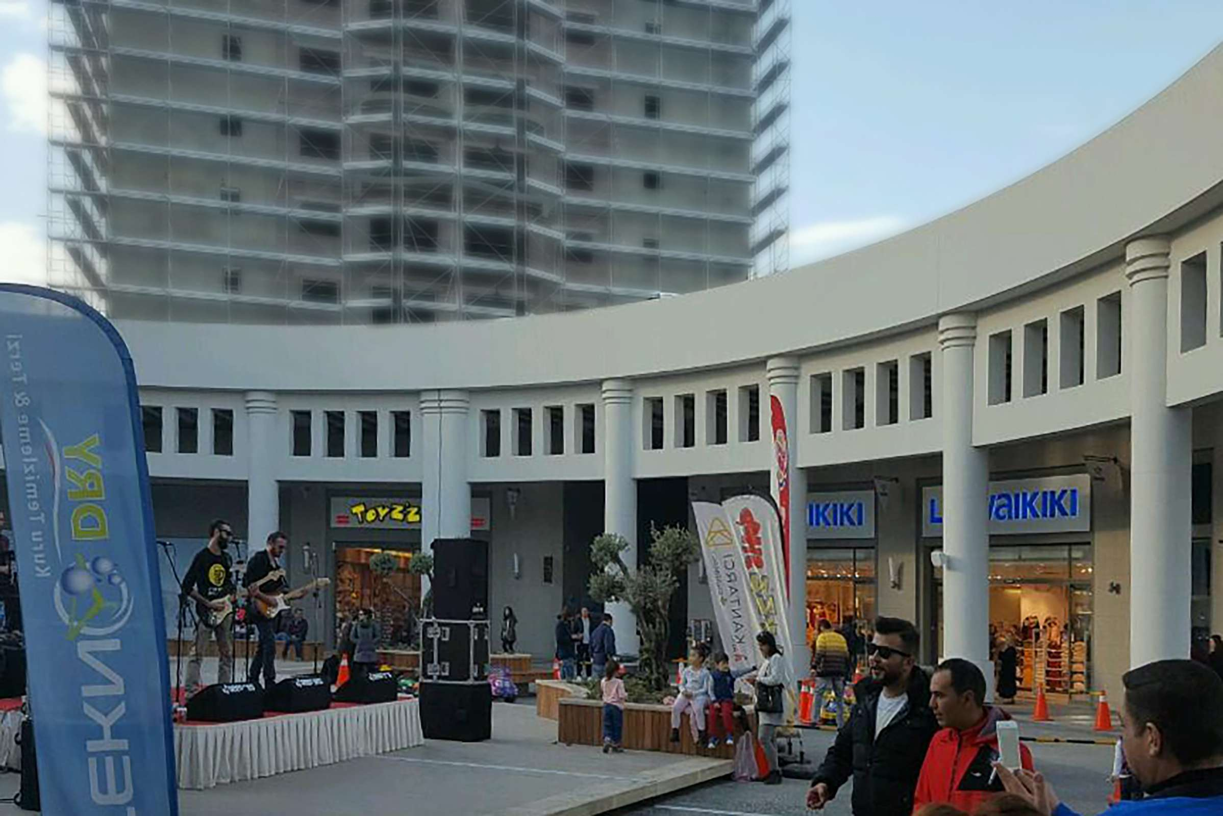 Fibrobeton Aqumall Shopping Mall