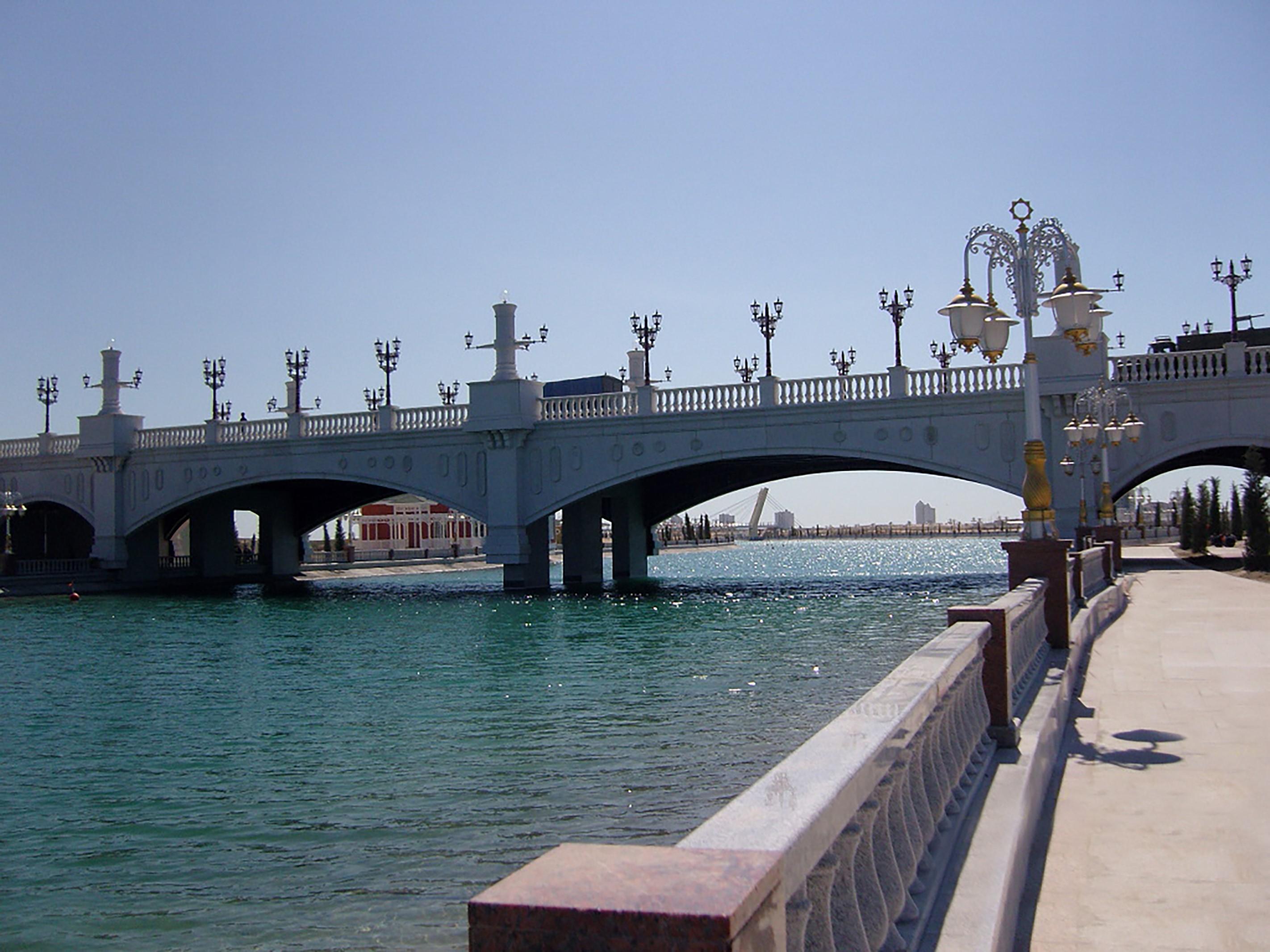 Fibrobeton Awaza Bridge 2