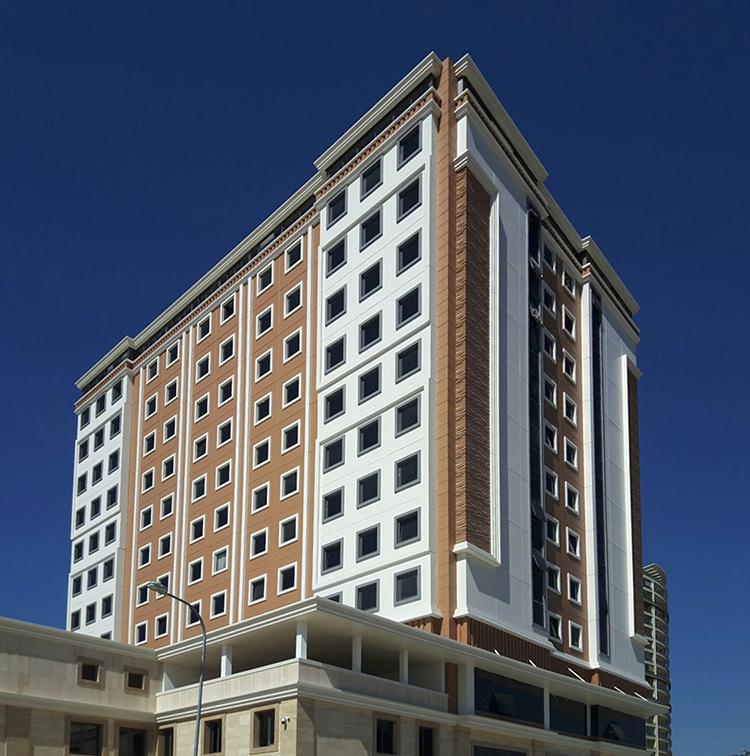 Fibrobeton Bayır Diamond Hotel