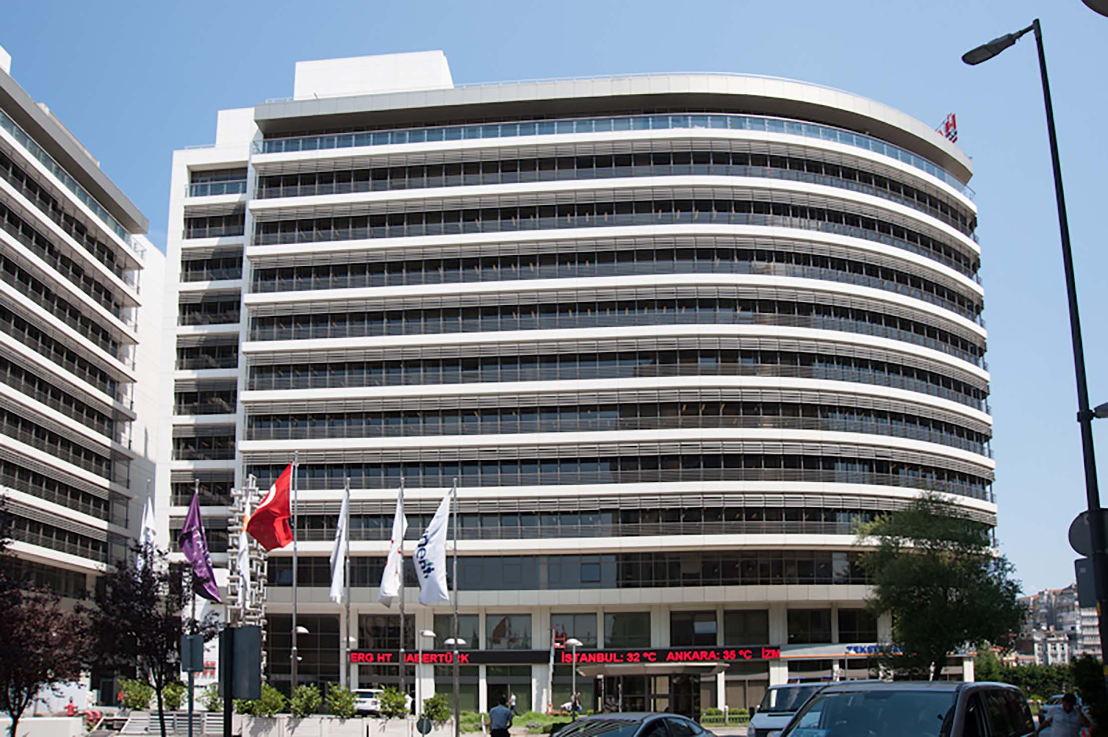 Fibrobeton Bloomberg Office