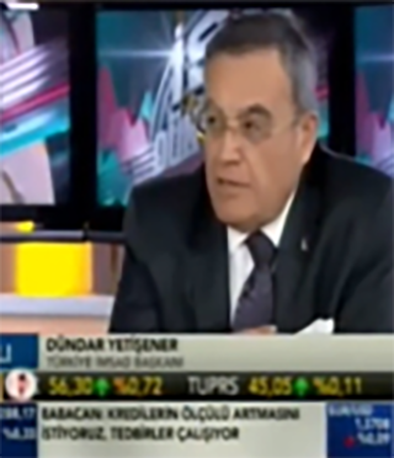 Fibrobeton Bloomberg TV (12.05.2014) Dundar Yetisener Is The Live Broadcast Guest