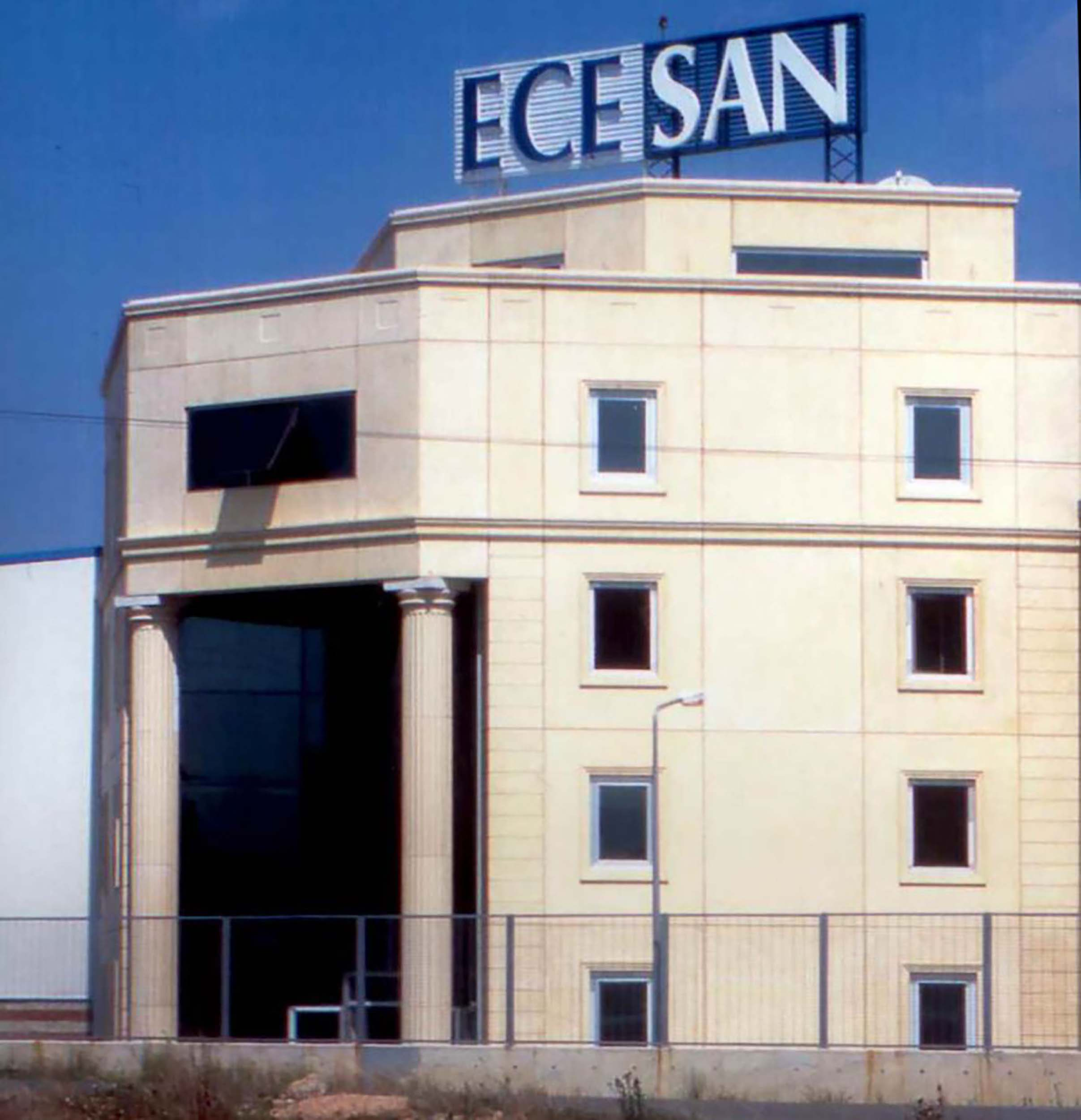 Fibrobeton Ecesan Production Facility And Administration Building