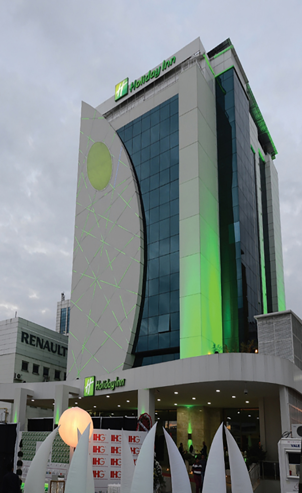 Fibrobeton Holiday Inn Hotel Gaziantep