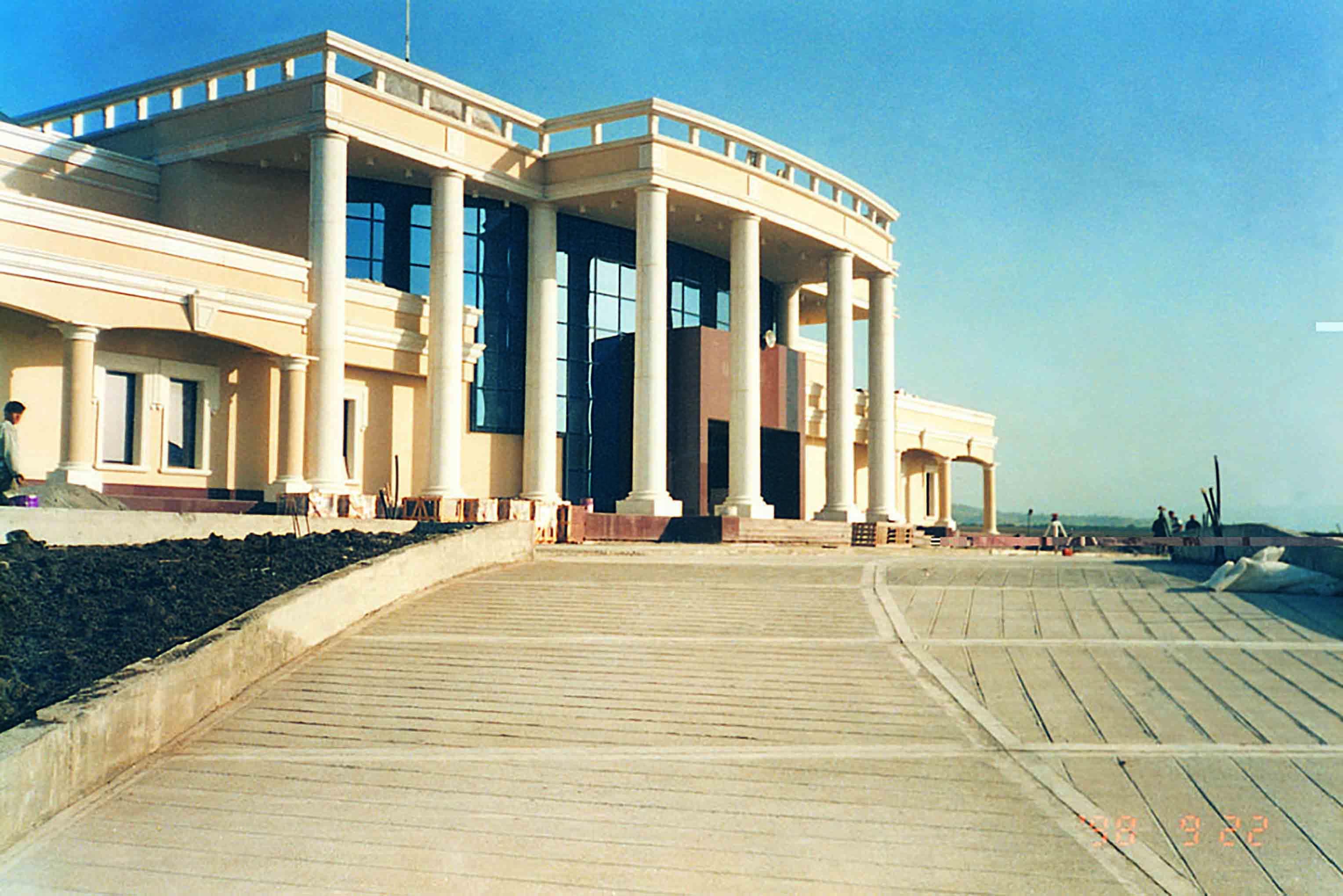 Fibrobeton Ingushetia Parliament Building
