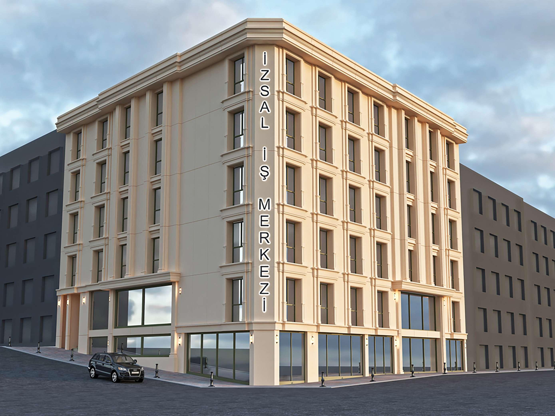 Fibrobeton Izsal Business Center, Şişli