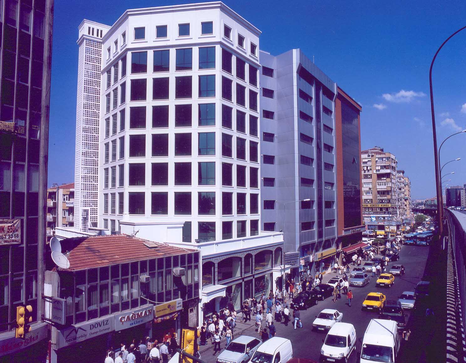 Fibrobeton Keceli Business Center, Mecidiyekoy