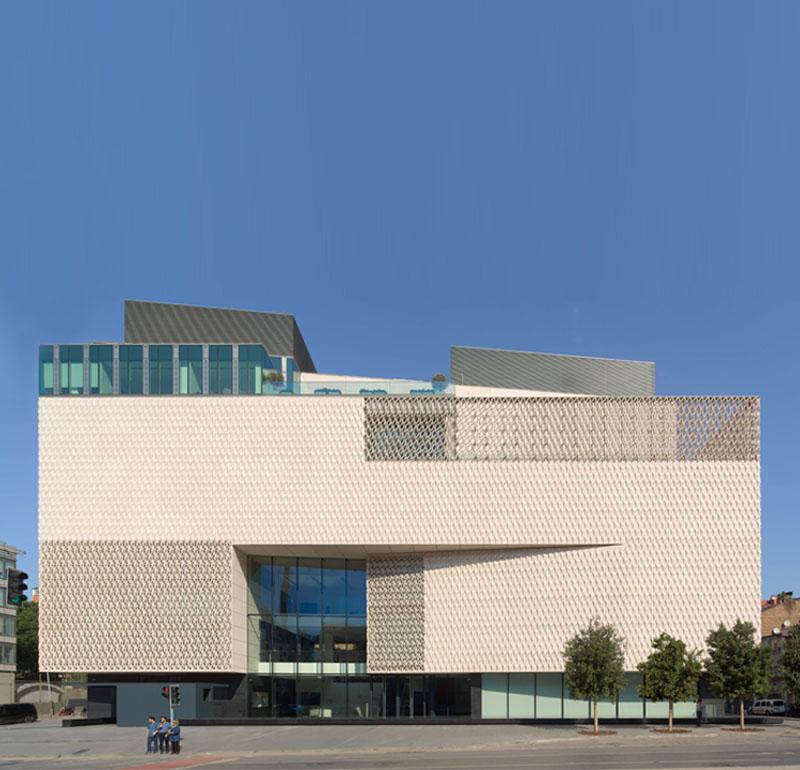 Fibrobeton Contemporary Art Museum For The Vehbi Koc Foundation