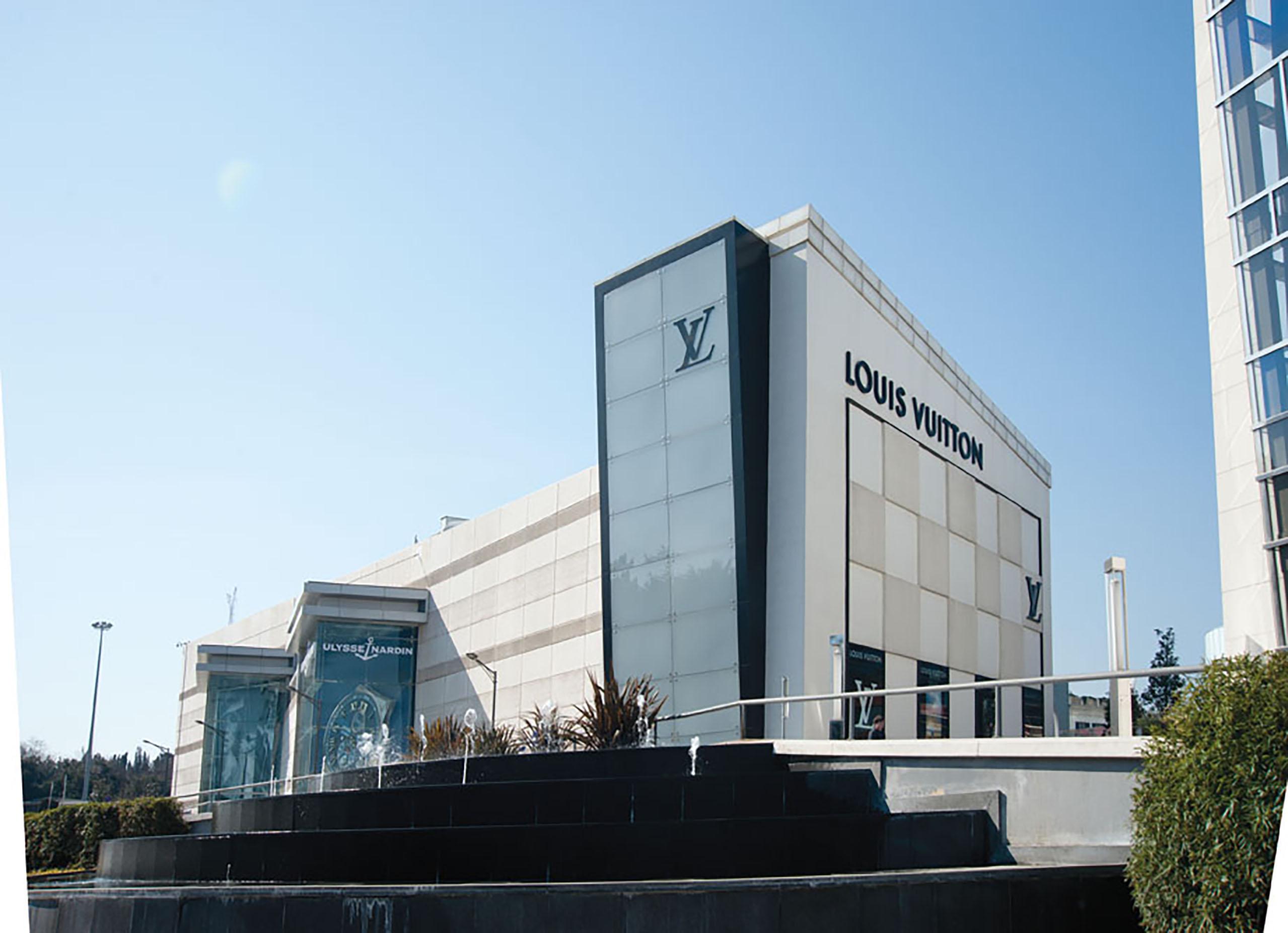 Fibrobeton Louis Vuitton Store