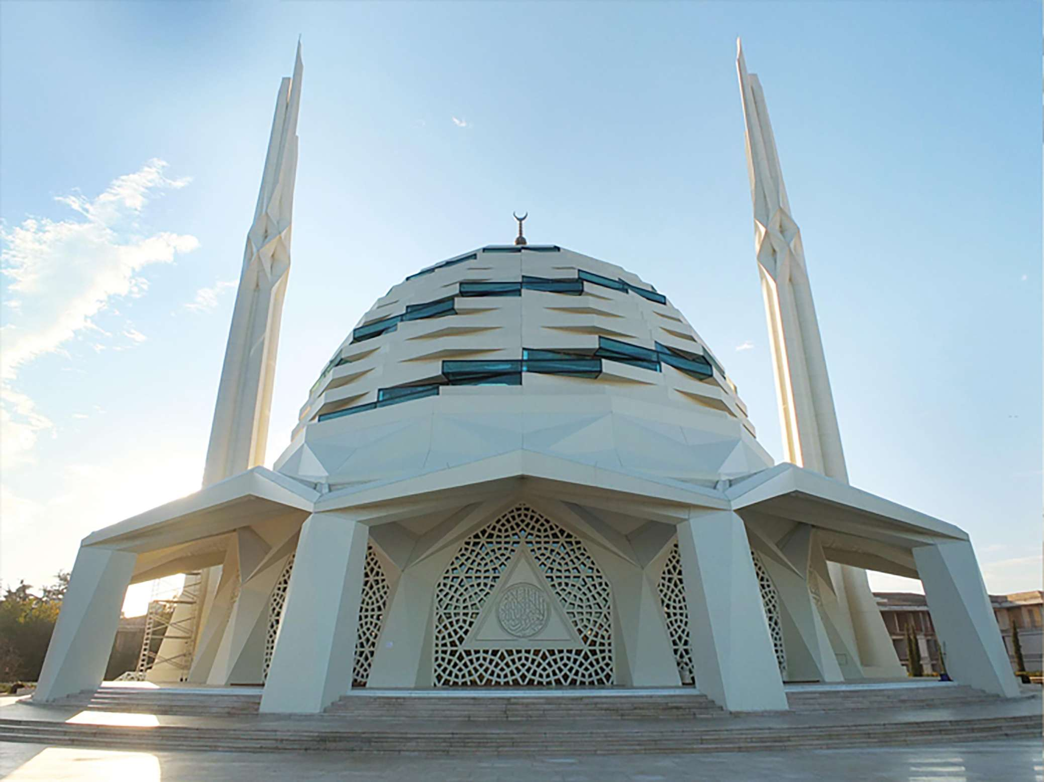 Fibrobeton Marmara University Faculty Of Theology Mosque