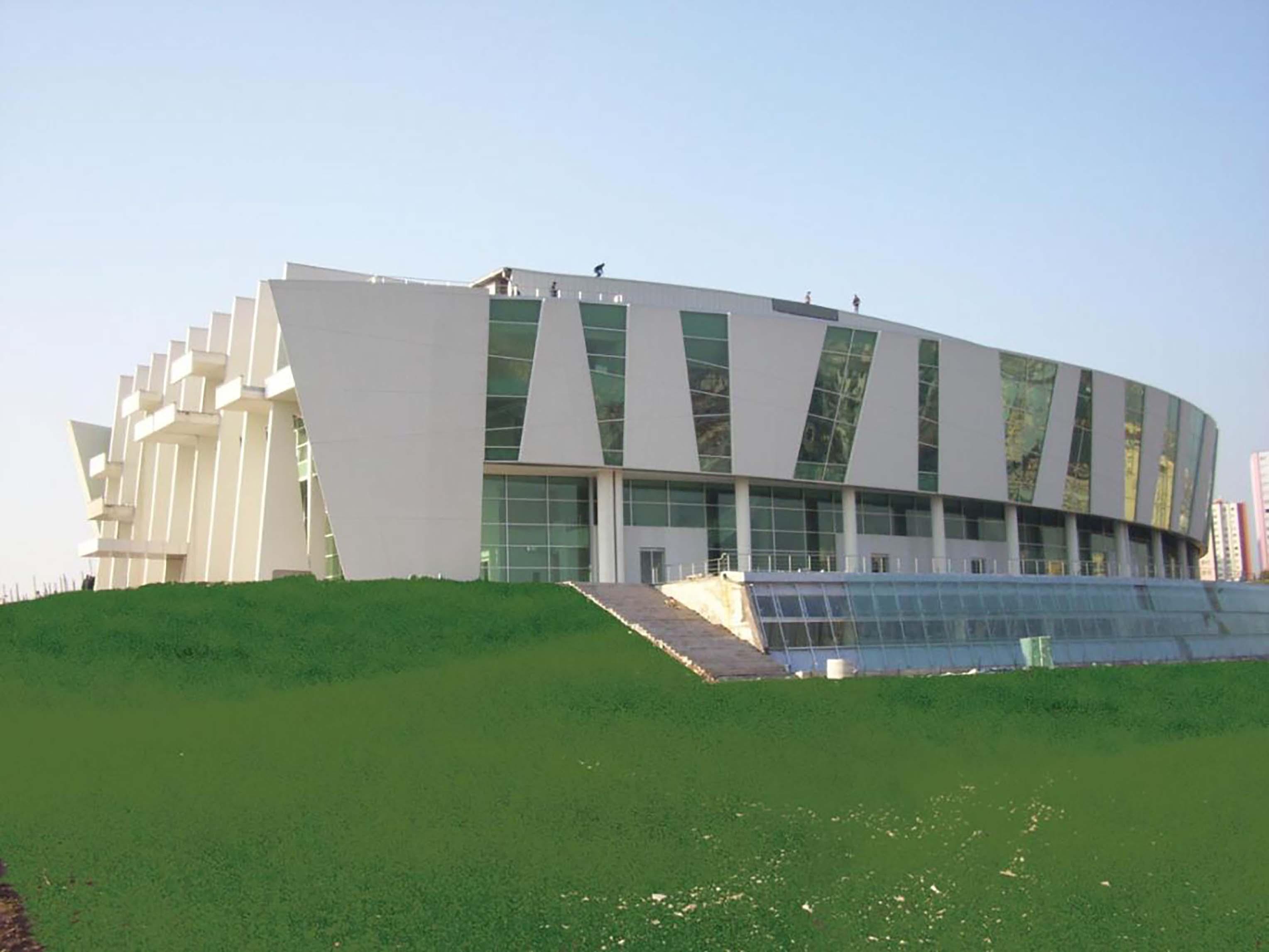 Fibrobeton Nazım Hikmet Cultural Center