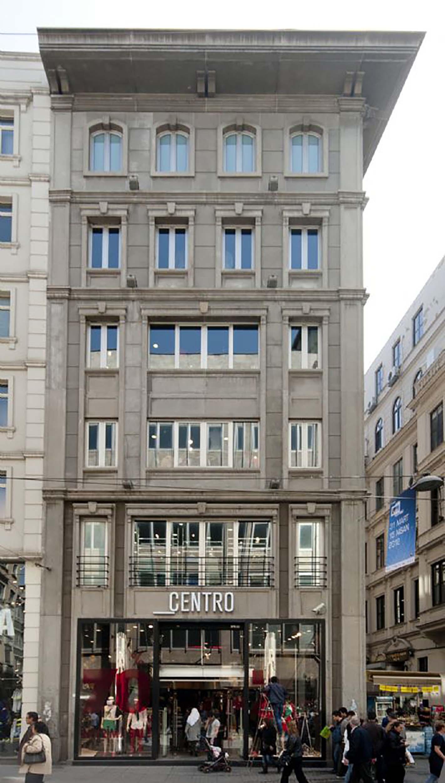 Fibrobeton Centro Store, Taksim