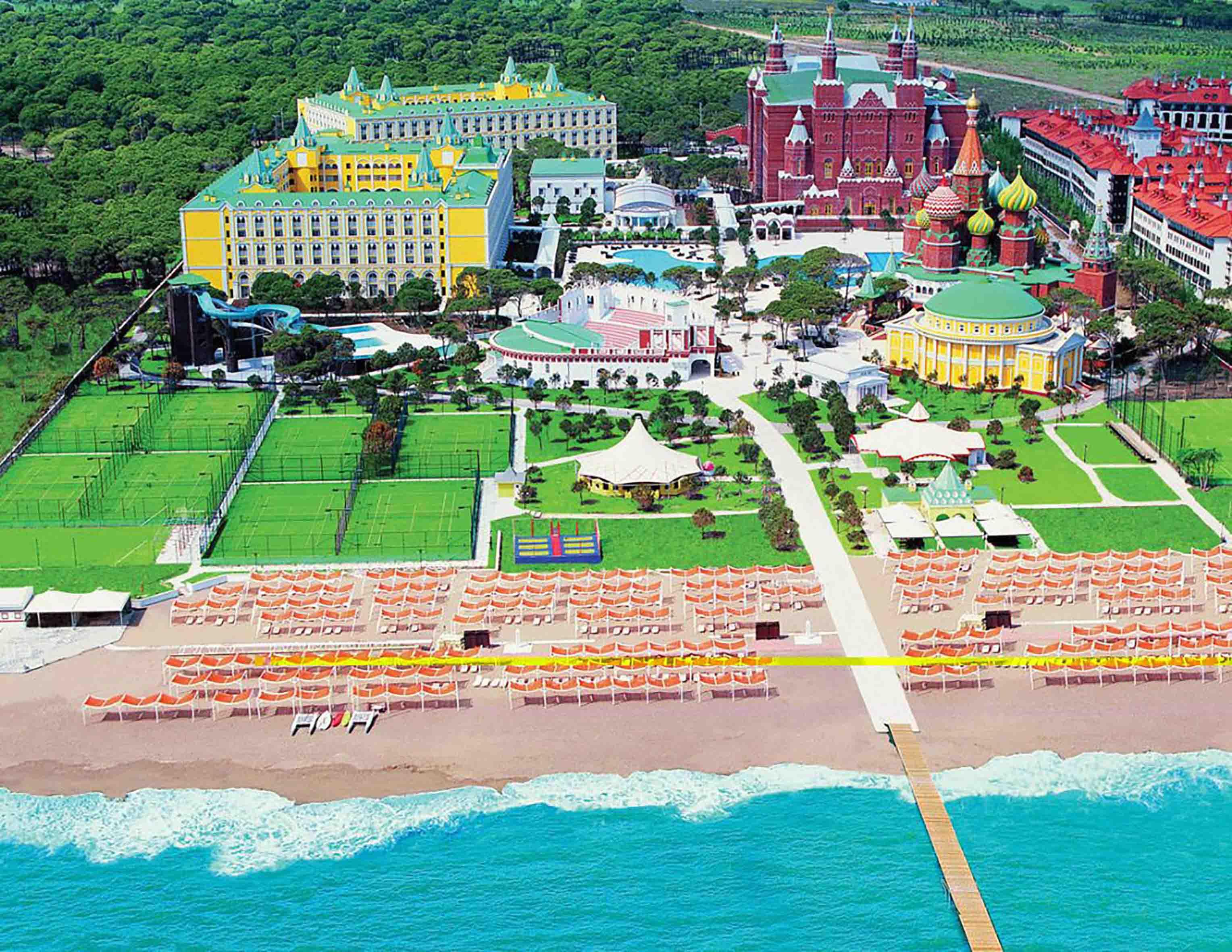 Fibrobeton Wow Kremlin Palace Hotel