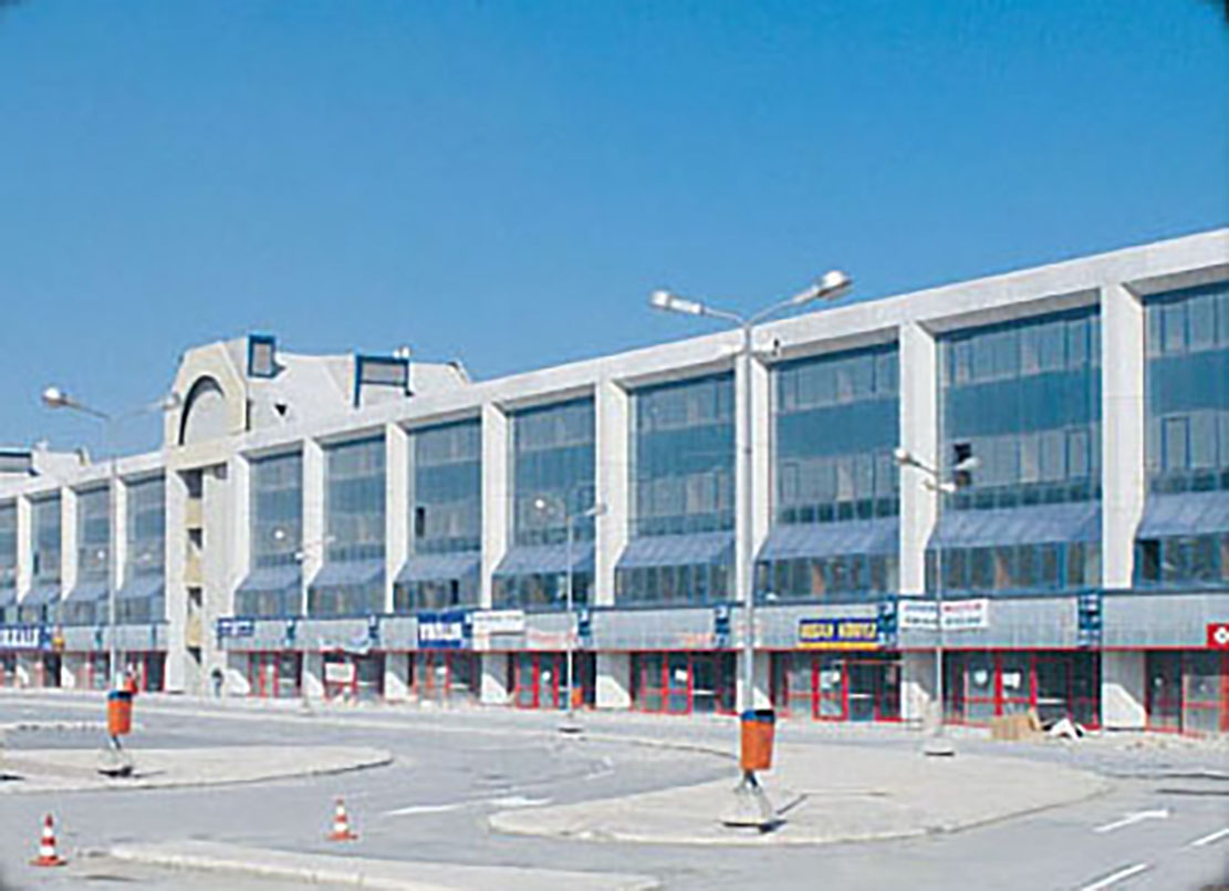 Fibrobeton made its foray by the Istanbul International Bus Station, Esenler Project