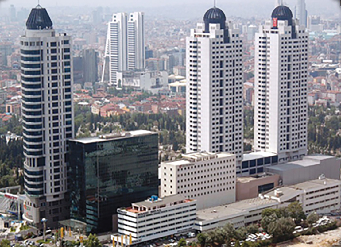Metrocity Project, Turkey's largest and highest-coated precast Project began.