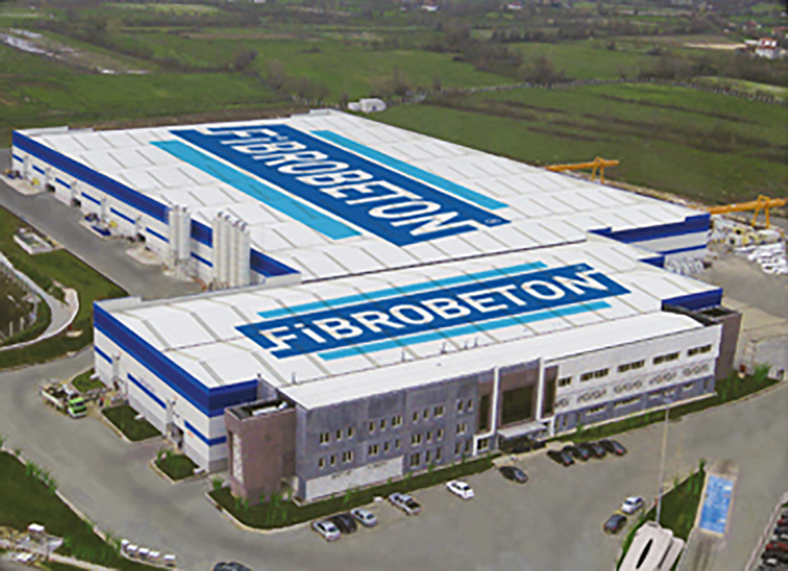Fibrobeton-Düzce: World's largest,technologically most integrated GRC facility under a single roof in operation.