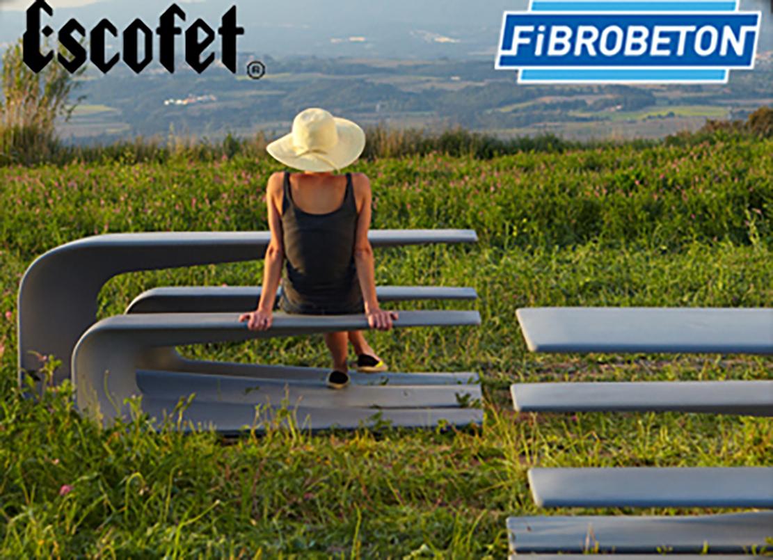 Fibrobeton; established in 1886 Spanish landscaping and street furniture manufacturer Escofet took the distributorship in Turkey.