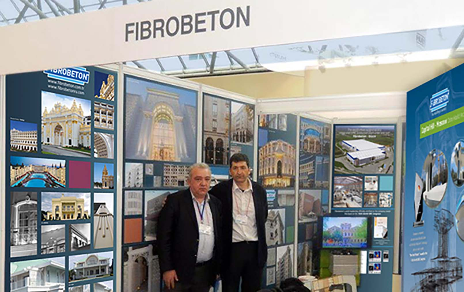 Fibrobeton Participated In MosBuild Fair For The 3rd Time