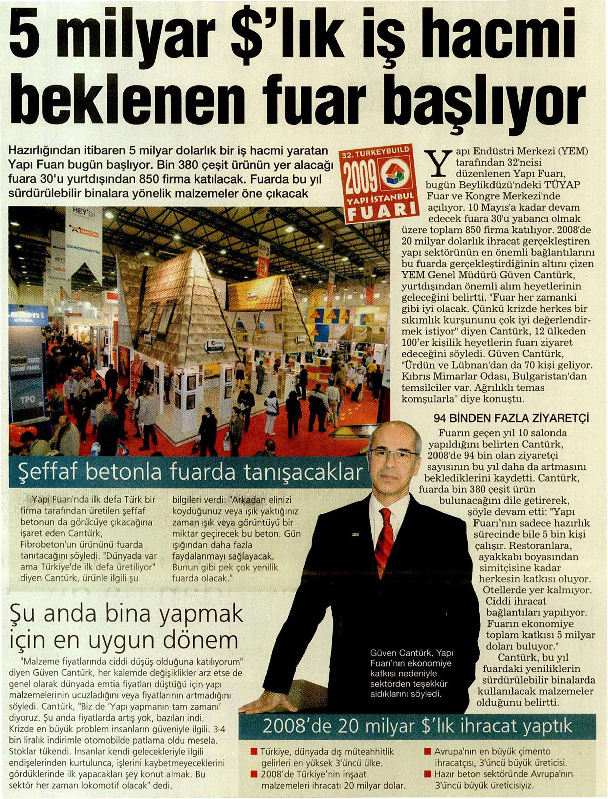 Fibrobeton 32.Turkeybuild Istanbul 2009