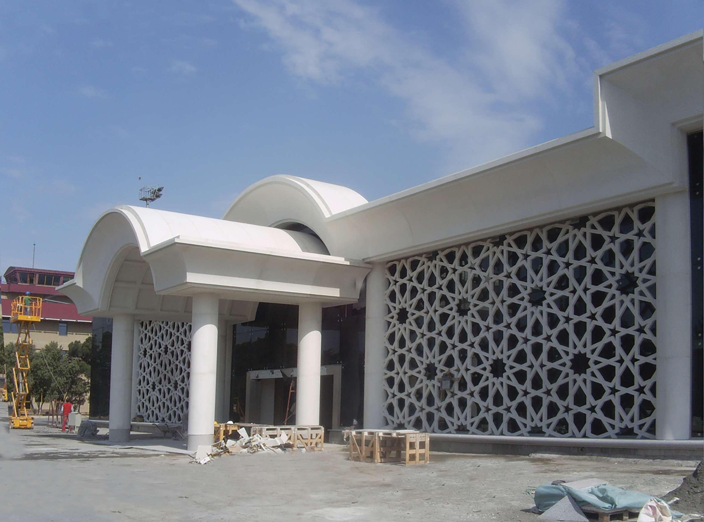 Fibrobeton Haydar Aliyev Airport Vip Lounge