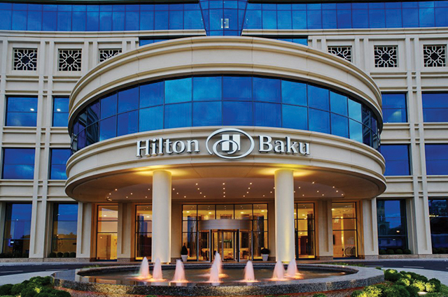 Fibrobeton Baku Hilton Hotel