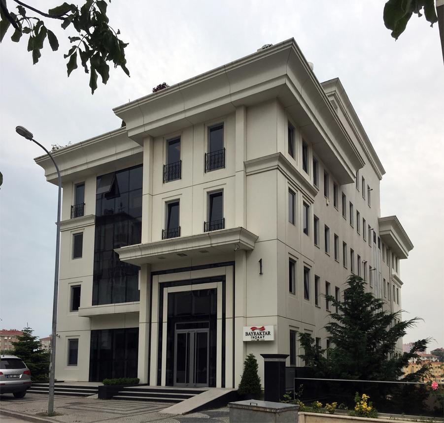 Fibrobeton Bayraktar Plaza, Acibadem