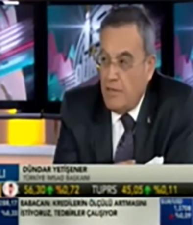 Fibrobeton Bloomberg TV 05.04.2014 Dundar Yetisener Is The Live Broadcast Guest