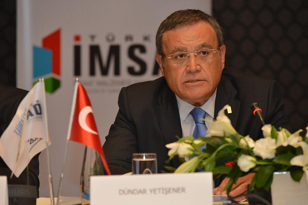 Fibrobeton Earthquake Manifesto Of İMSAD In The Presidency Of Dündar Yetişener