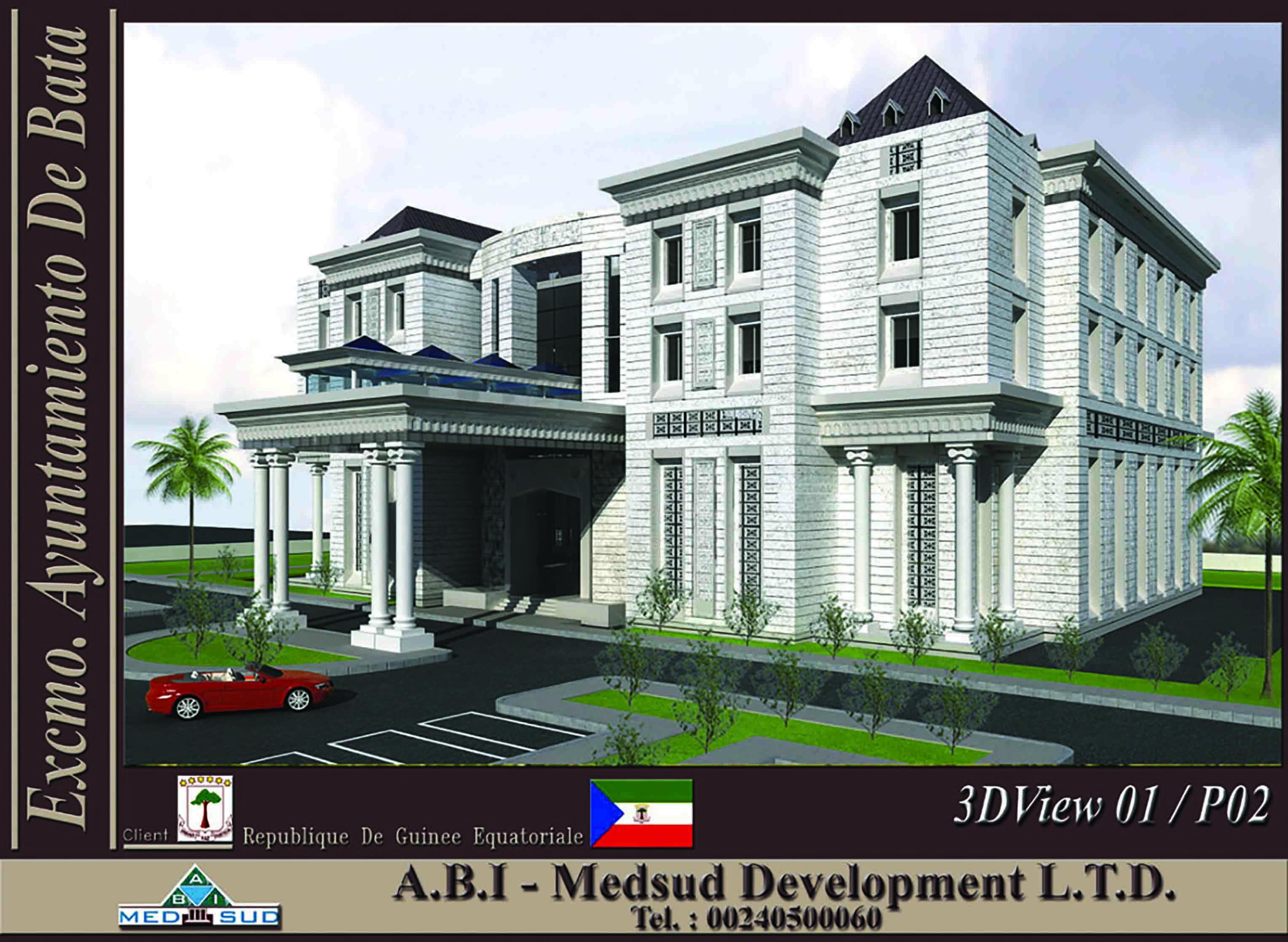 Fibrobeton Bata Municipality Building