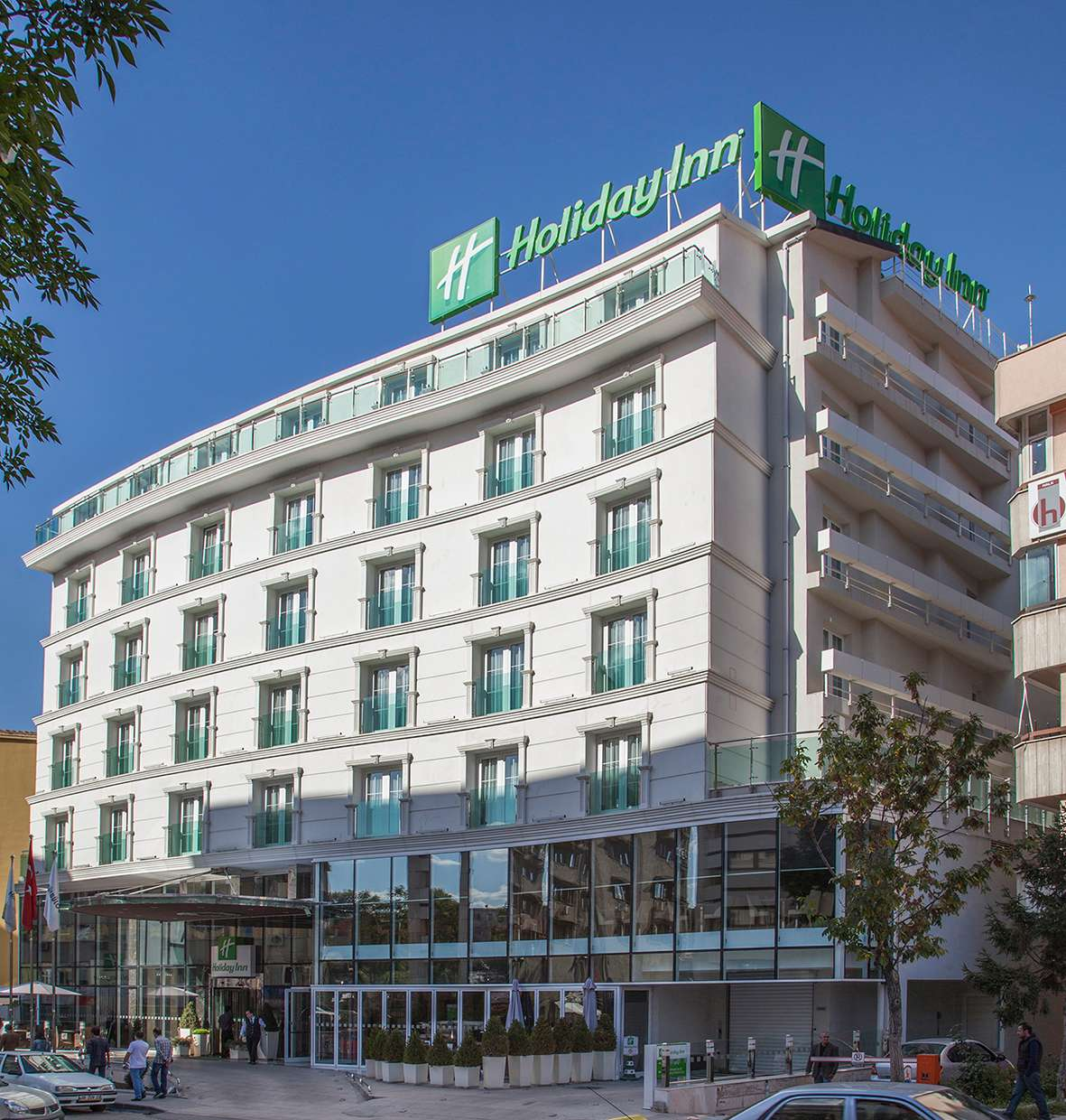 Fibrobeton Holiday Inn Hotel Ankara