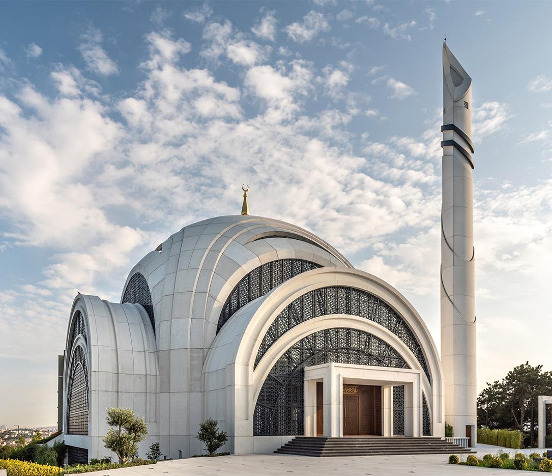 Fibrobeton Itu Ayazaga Mosque