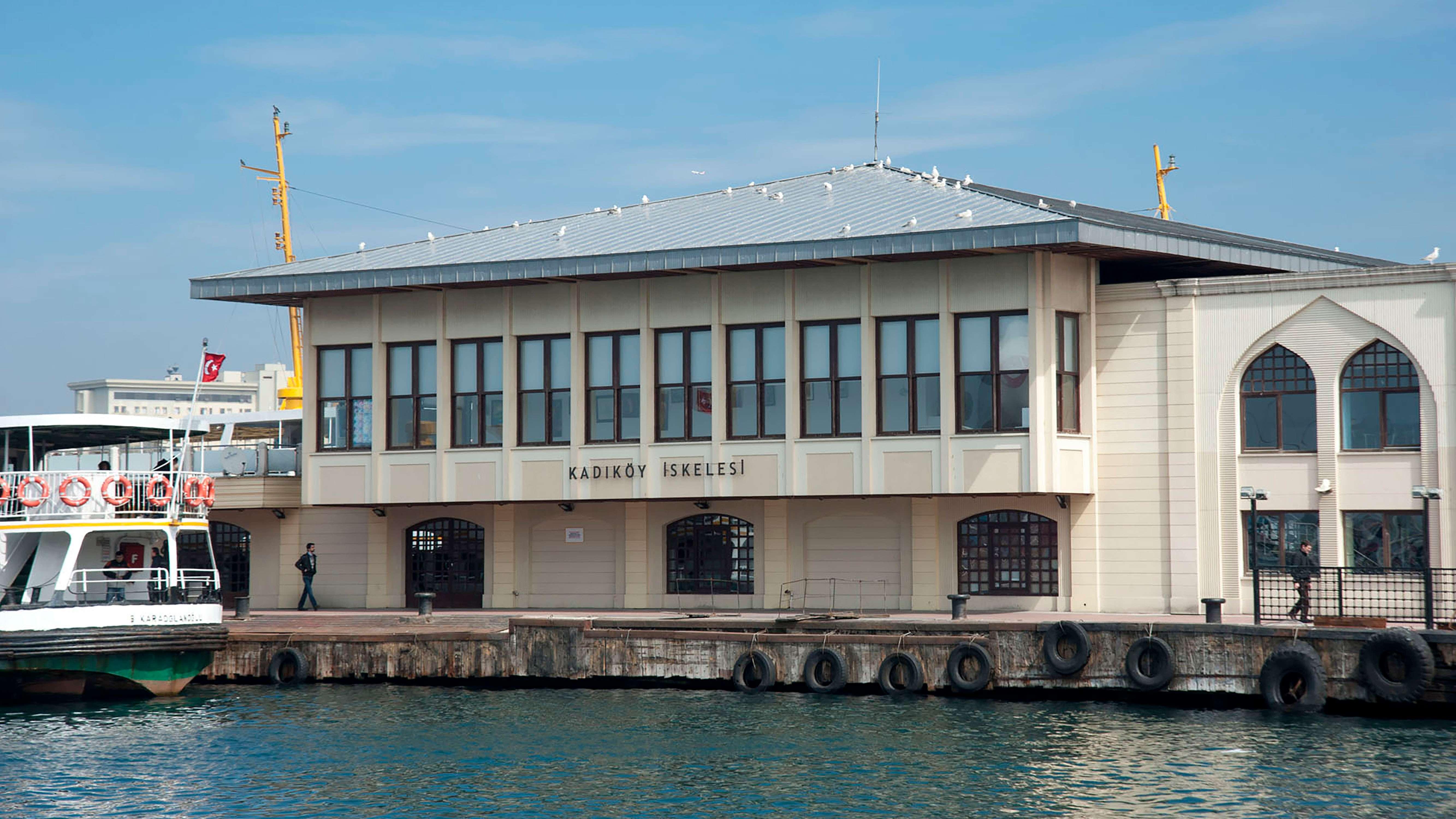Fibrobeton Kadikoy Wharf