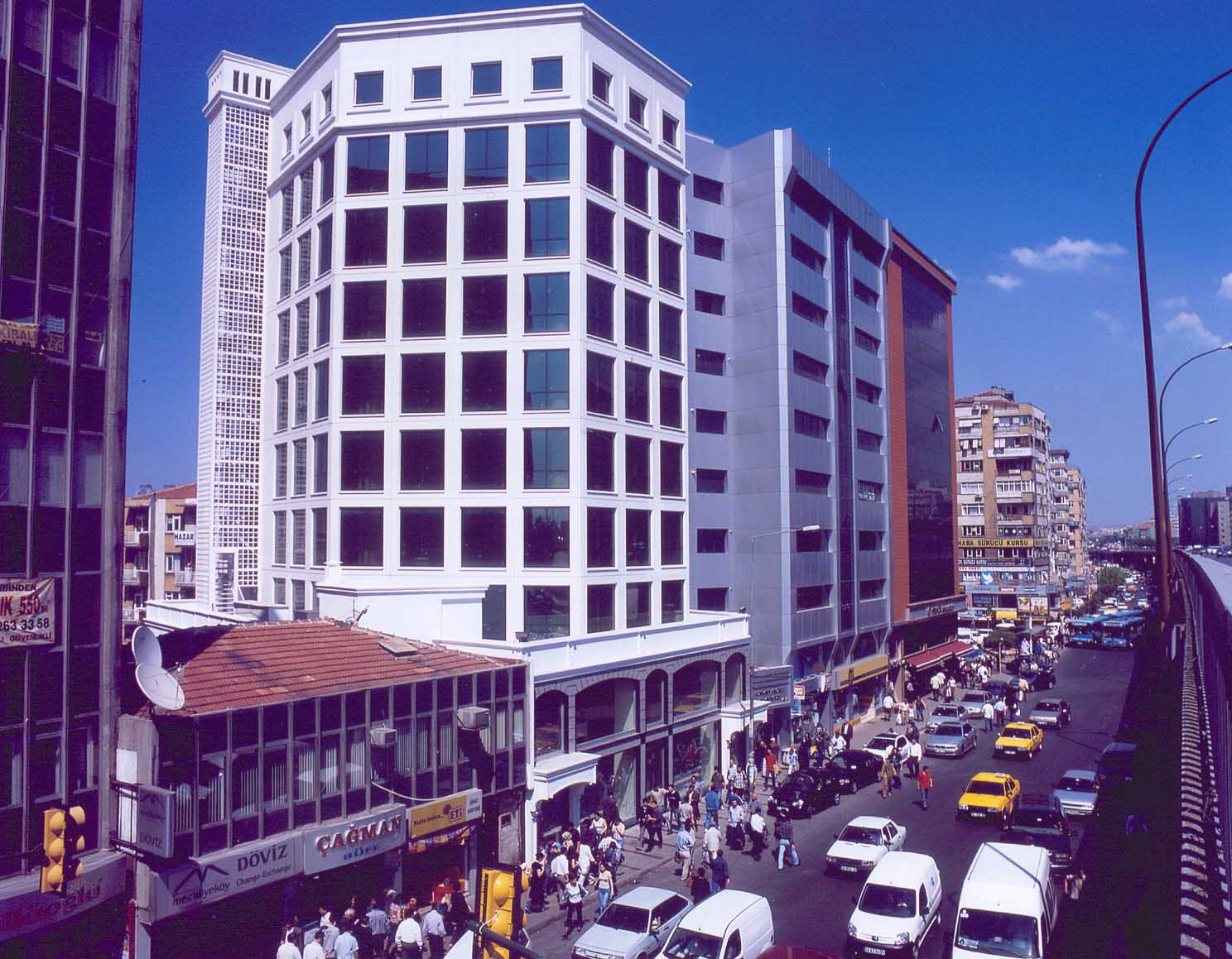 Fibrobeton Keceli Business Center, Mecidiyekoy