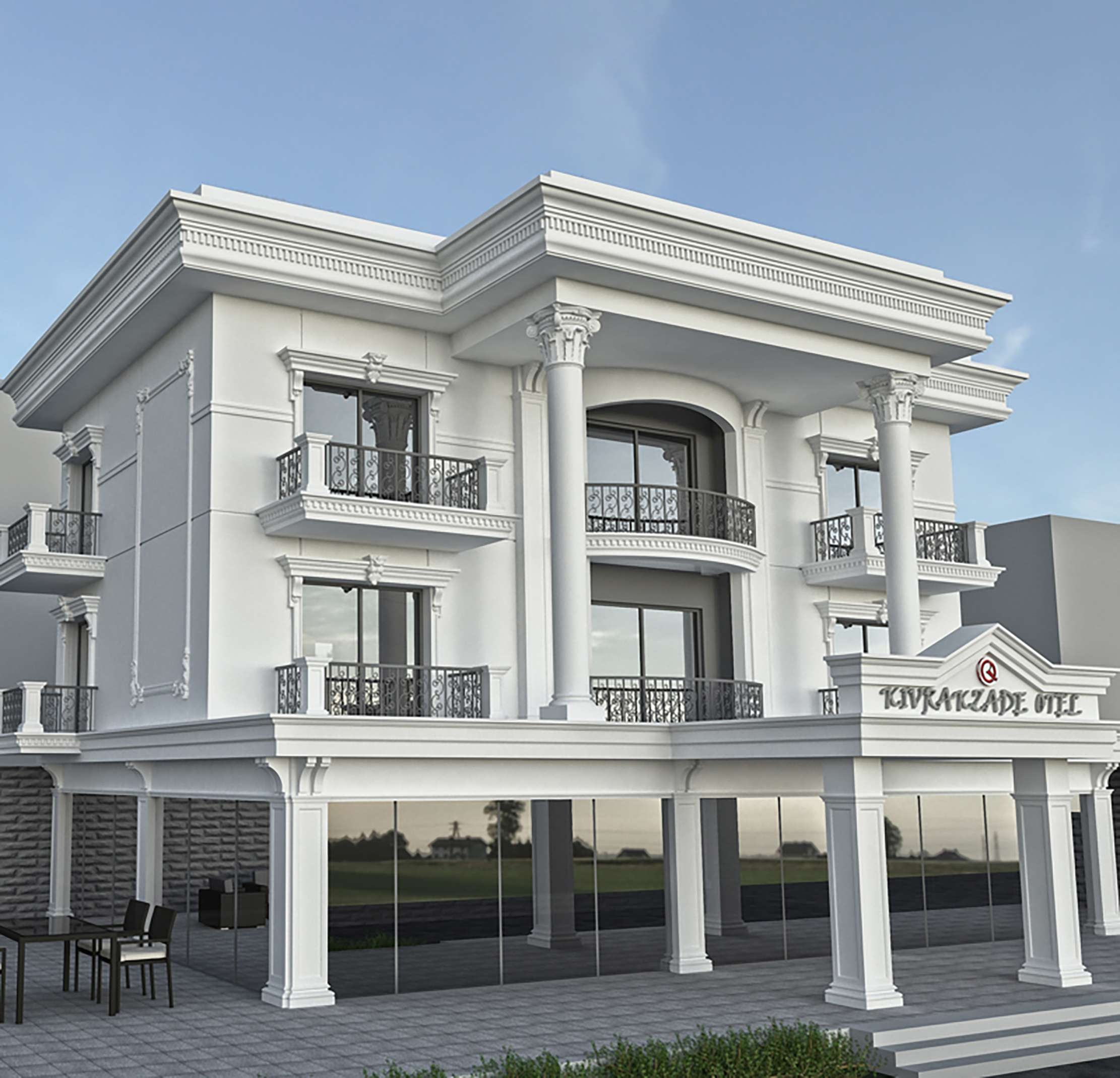 Fibrobeton Kıvrakzade Apart Hotel