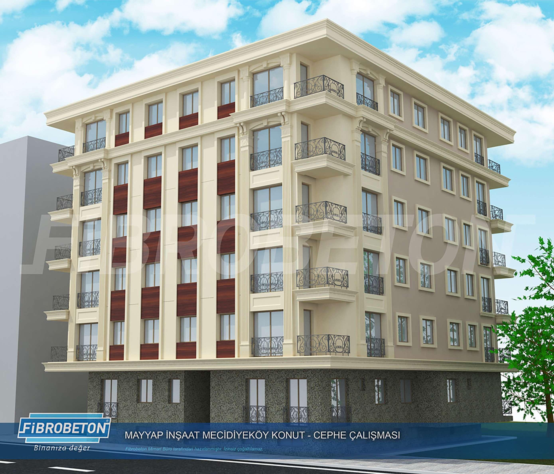 Fibrobeton Residence, Mecidiyekoy