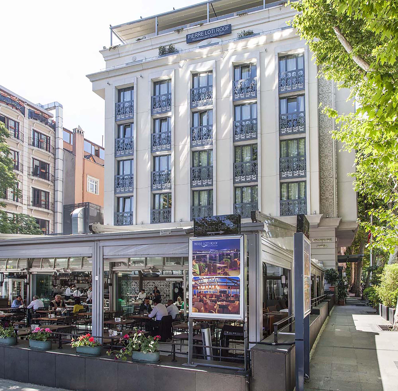 Fibrobeton Pierre Loti Hotel