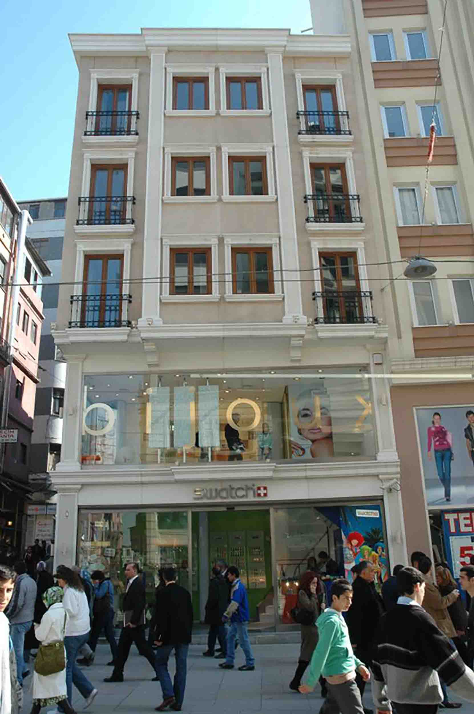 Fibrobeton Swatch Store, Taksim