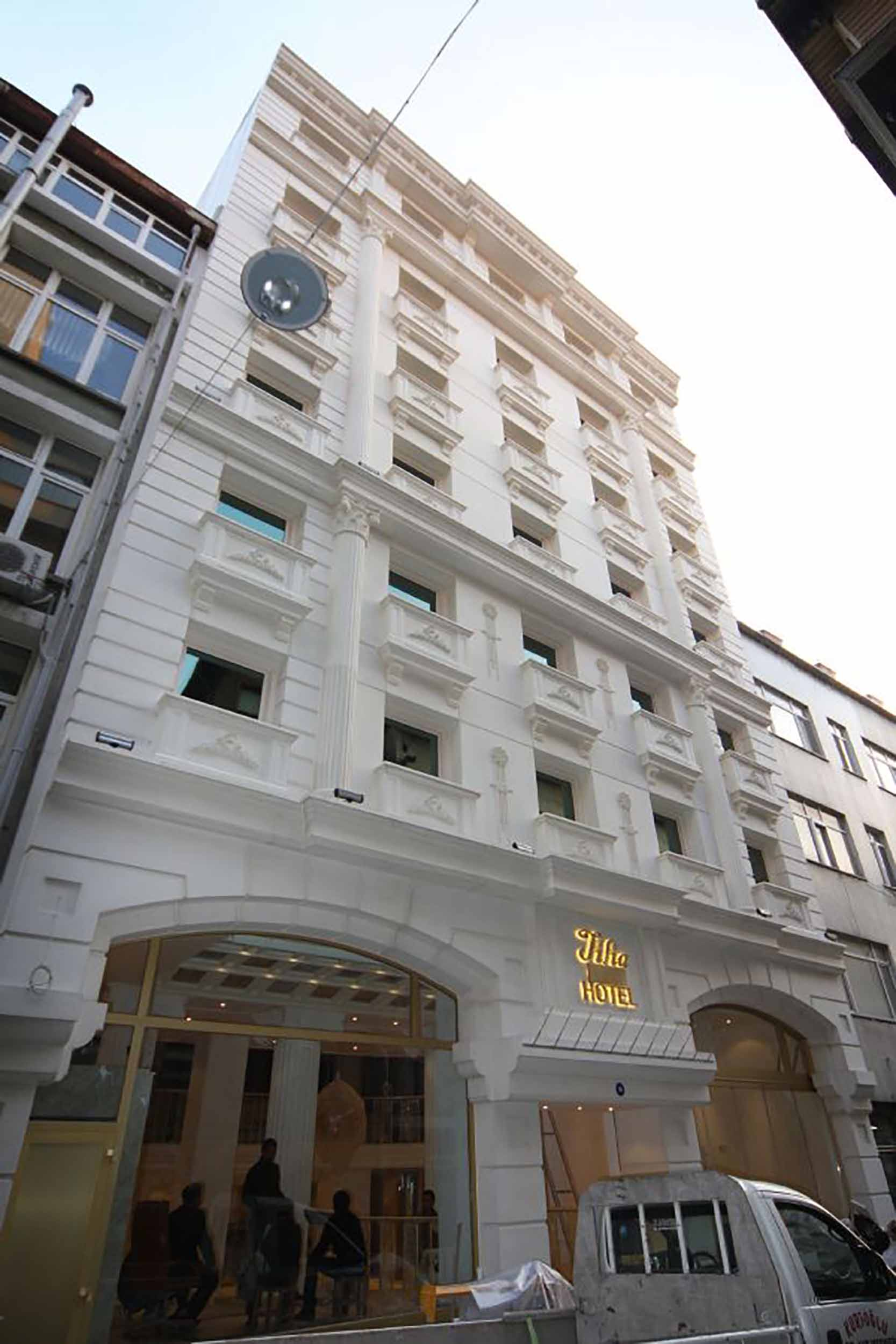 Fibrobeton Tilia Hotel