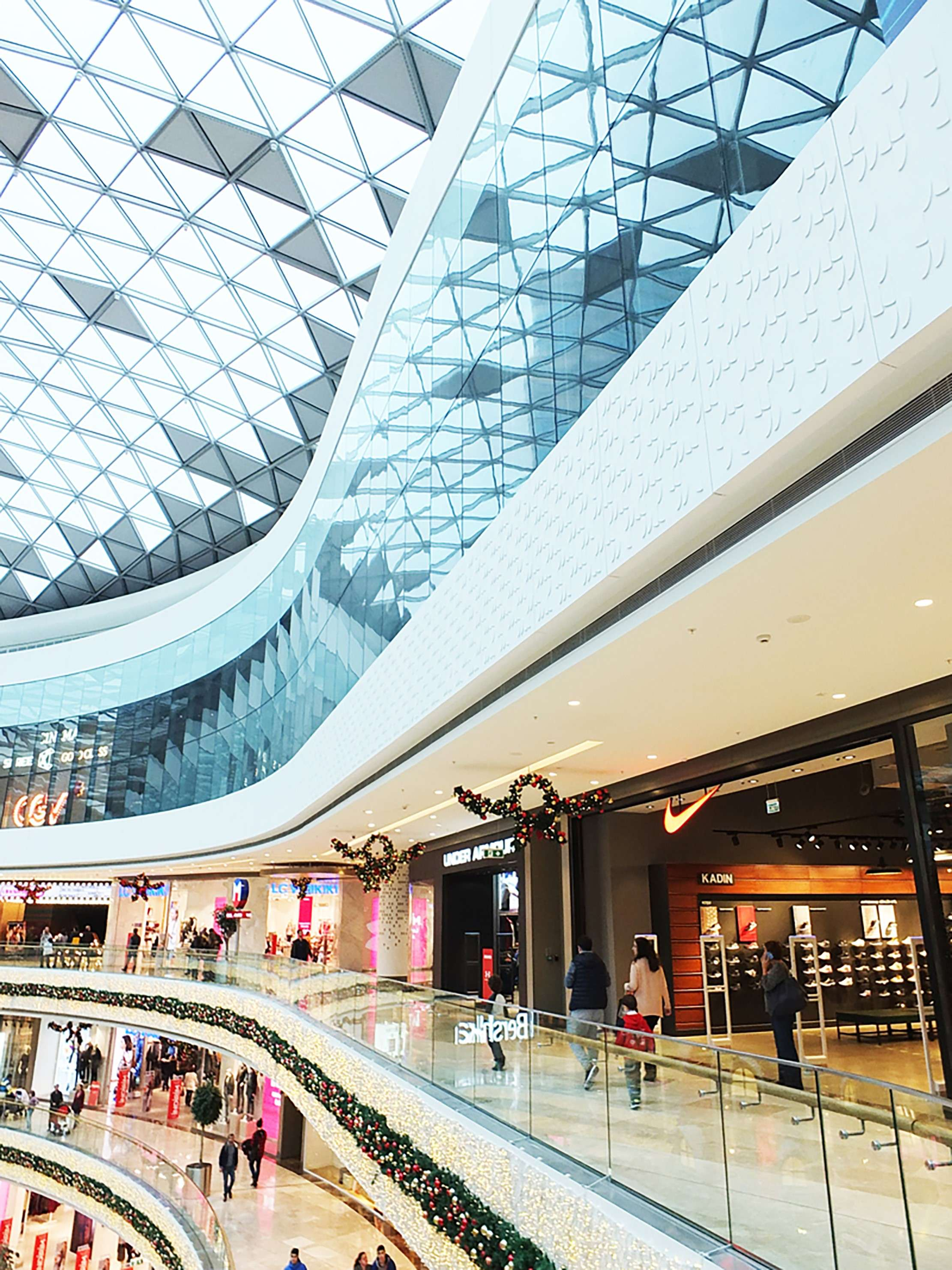 Fibrobeton Vadistanbul Shopping Mall