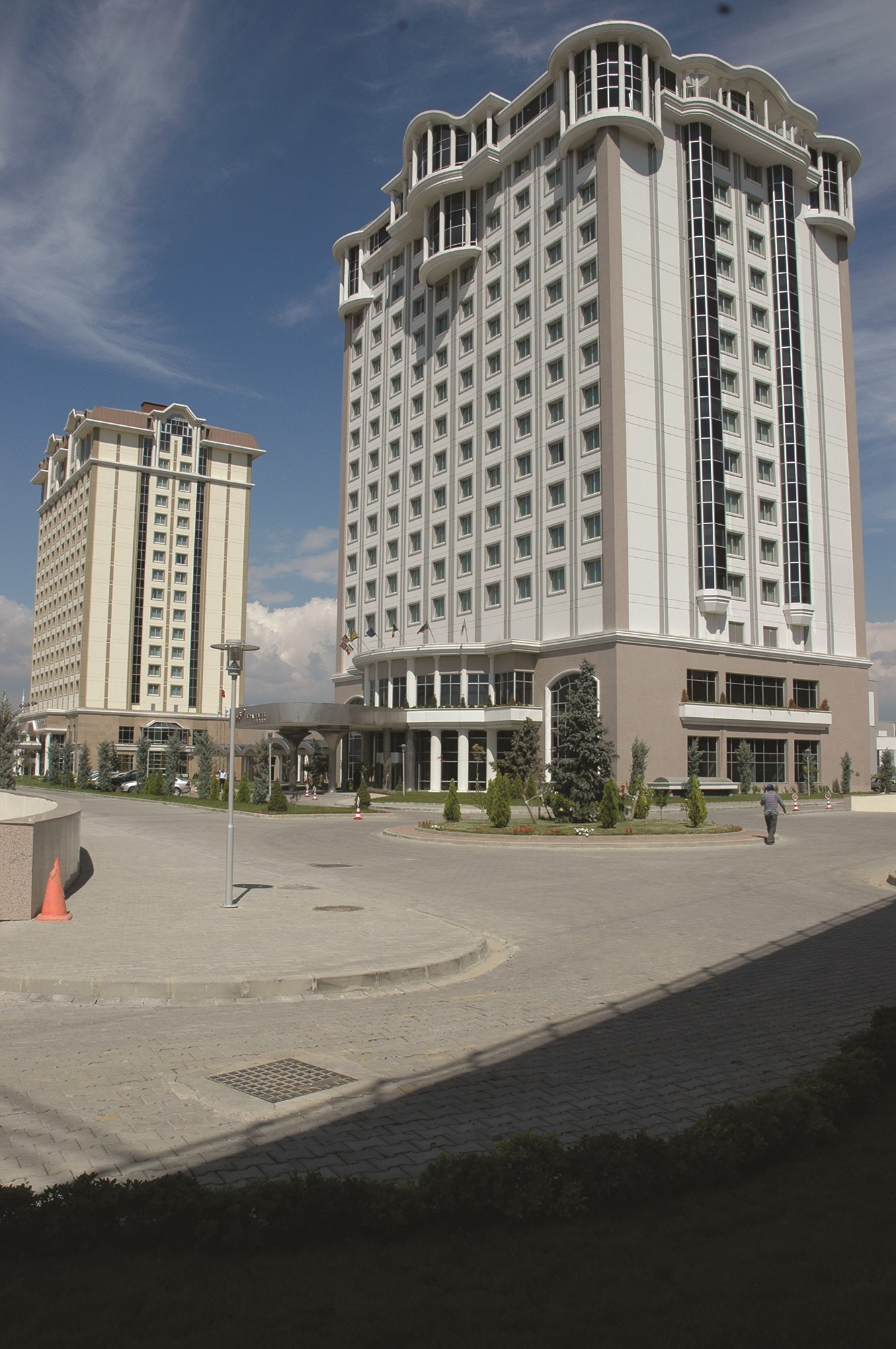 Fibrobeton Wow Istanbul Hotel