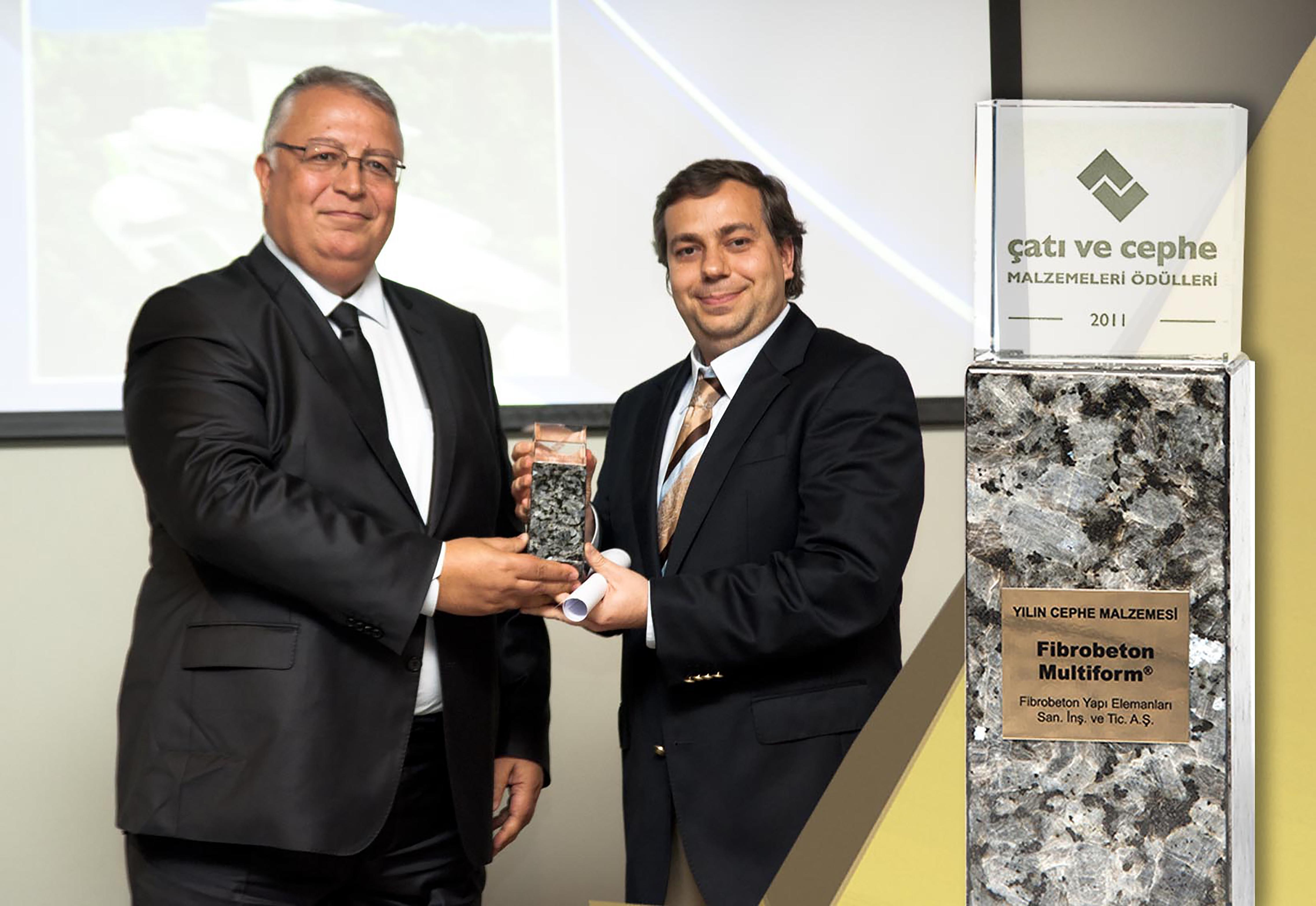 With Fibro-Multiform® The Facade Material Of The Year Award