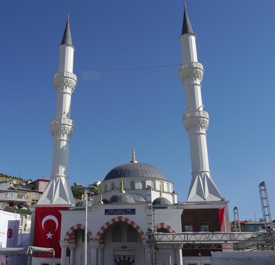 Fibrobeton Yusuf Ziye Demir Mosque
